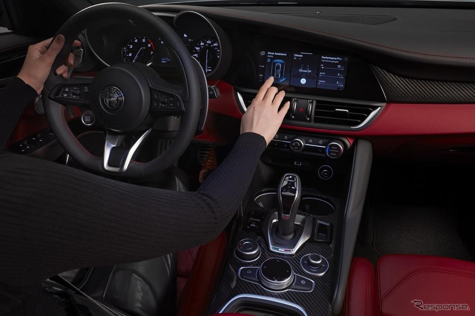 アルファロメオ・ジュリアの2020年モデル《photo by Alfa Romeo》