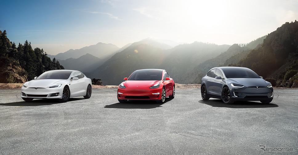 テスラのEV《photo by Tesla》