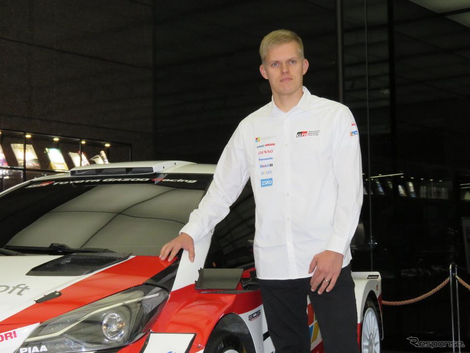 王者タナク、来季はヒュンダイで走り、トヨタのライバルとなる。《撮影 遠藤俊幸》