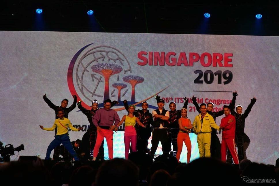 ITS世界会議シンガポール2019《撮影 会田肇》