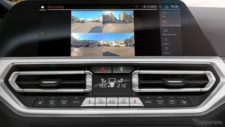BMW ドライブレコーダー機能《画像:ビー・エム・ダブリュー》