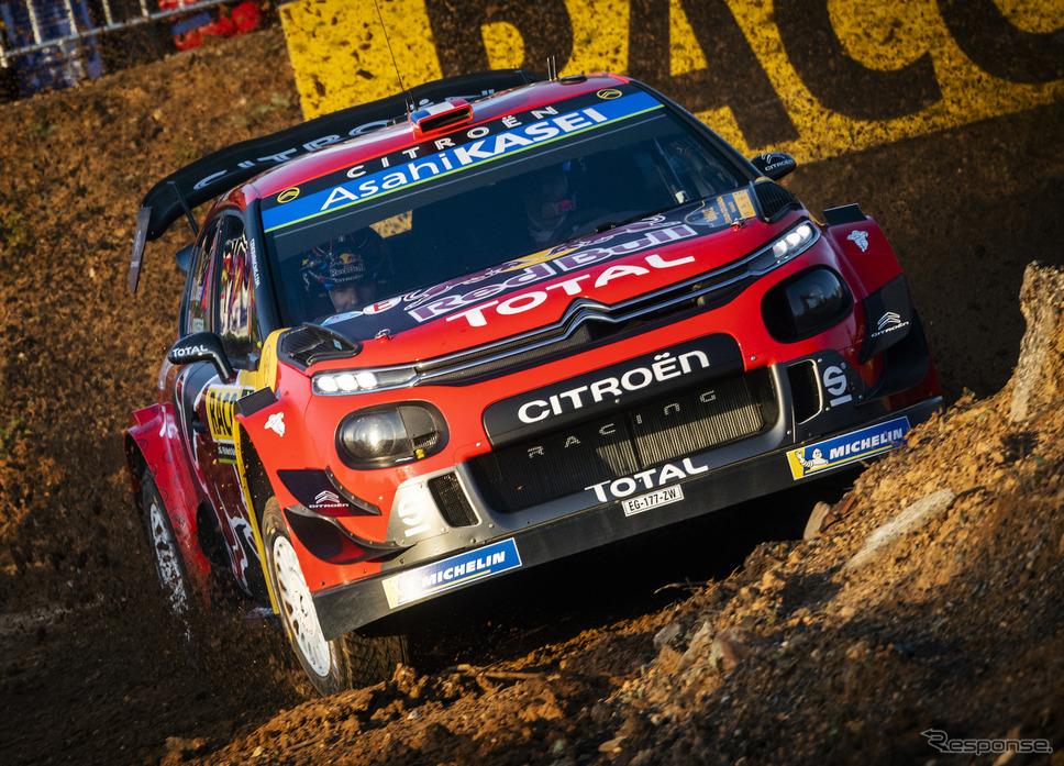 2019年シーズンを戦った「シトロエンC3 WRC」。《写真提供 Red Bull》