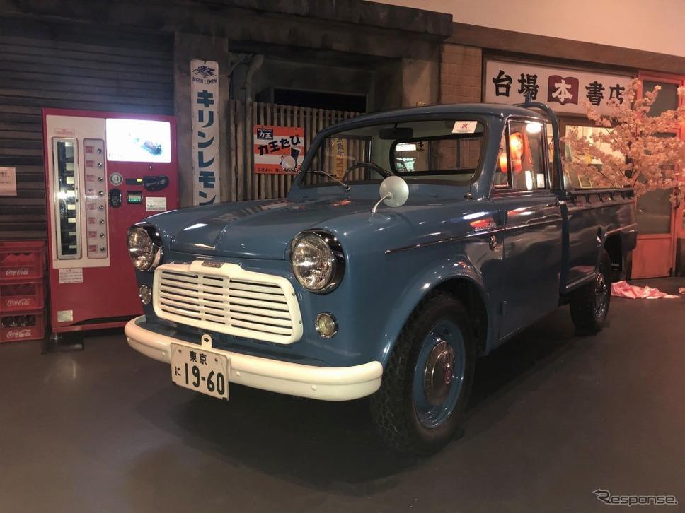 ダットサン 1000 トラック G222型(1960年)《画像:アムラックストヨタ》