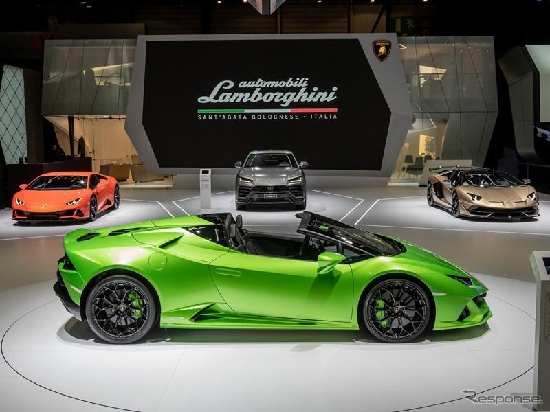 ランボルギーニの市販車ラインナップ(参考画像)《photo by Lamborghini》