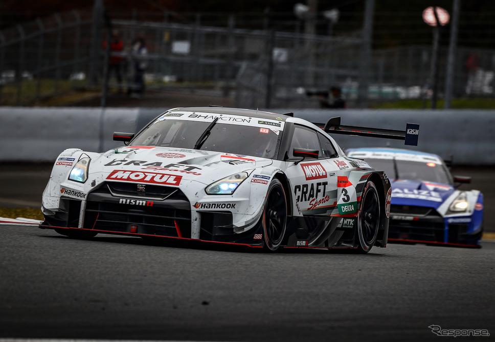 決勝11位の#3 日産GT-R(F.マコヴィッキィ)。《撮影 益田和久》