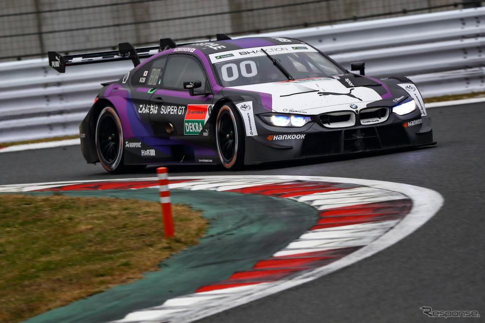 決勝5位の#00 BMW M4 DTM(小林可夢偉)。《撮影 益田和久》