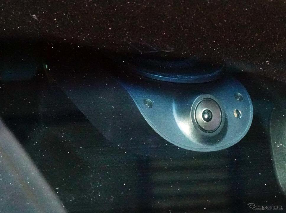 AI搭載型通信ドライブレコーダー「ナウト」、車外側