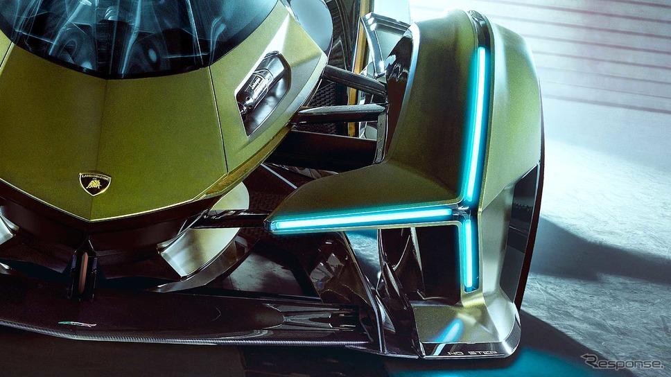 ランボルギーニ・ランボ V12 ビジョン グランツーリスモ《photo by Lamborghini》
