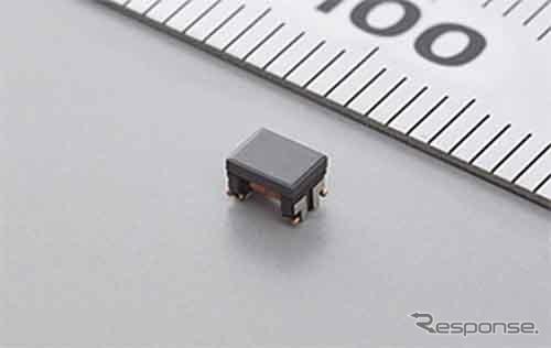 村田製作所 車載Ethernet向けコモンモードチョークコイル DLW32MH201YK2《画像:村田製作所》