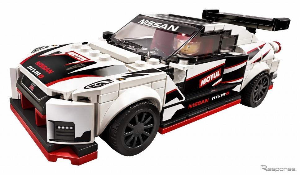 レゴ スピードチャンピオンシリーズ「日産 GT-R ニスモ 76896」《画像:レゴジャパン》
