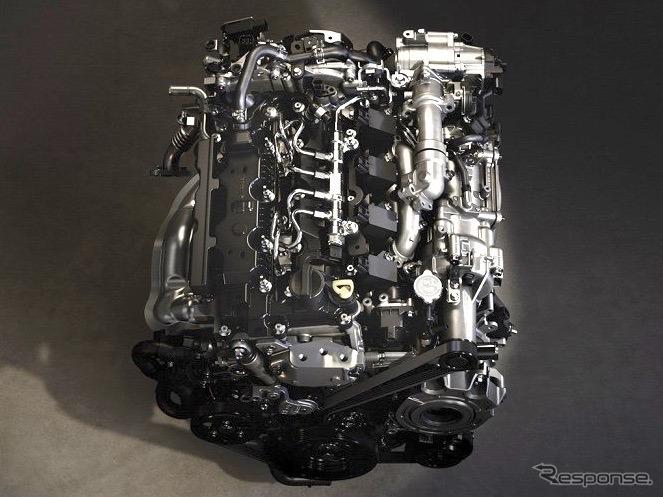 マツダの新型エンジン、SKYACTIV-X《撮影 マツダ》