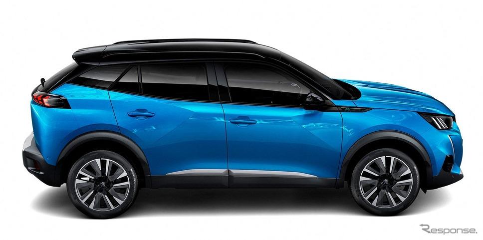 プジョー 2008 新型のEV、e-2008《photo by Peugeot》