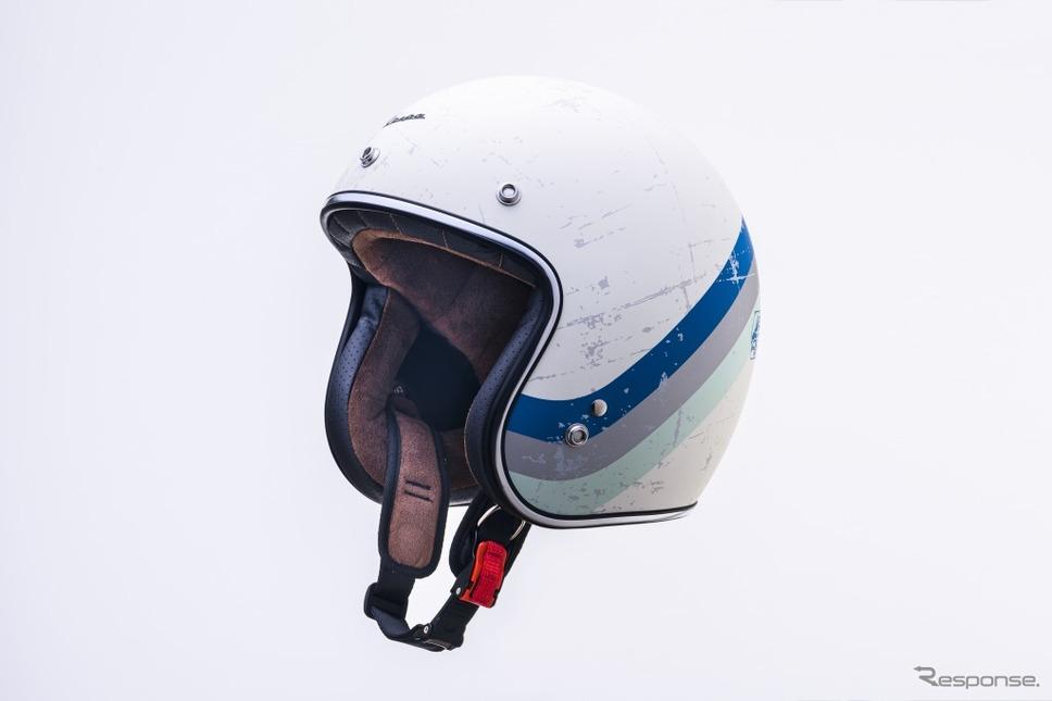 ベスパ純正ヘルメット グラフィックモデル(ヘリテージ)《画像:ピアッジオグループジャパン》