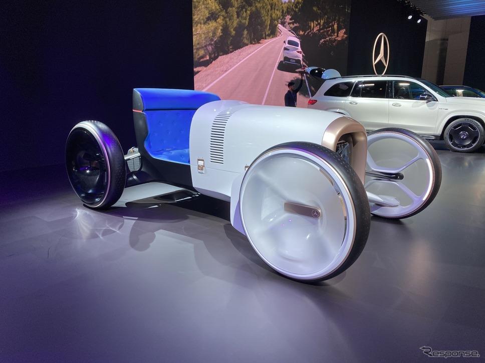 メルセデスベンツ・ヴィジョン・メルセデス・シンプレックス(ロサンゼルスモーターショー2019)《photo by Mercedes-Benz》