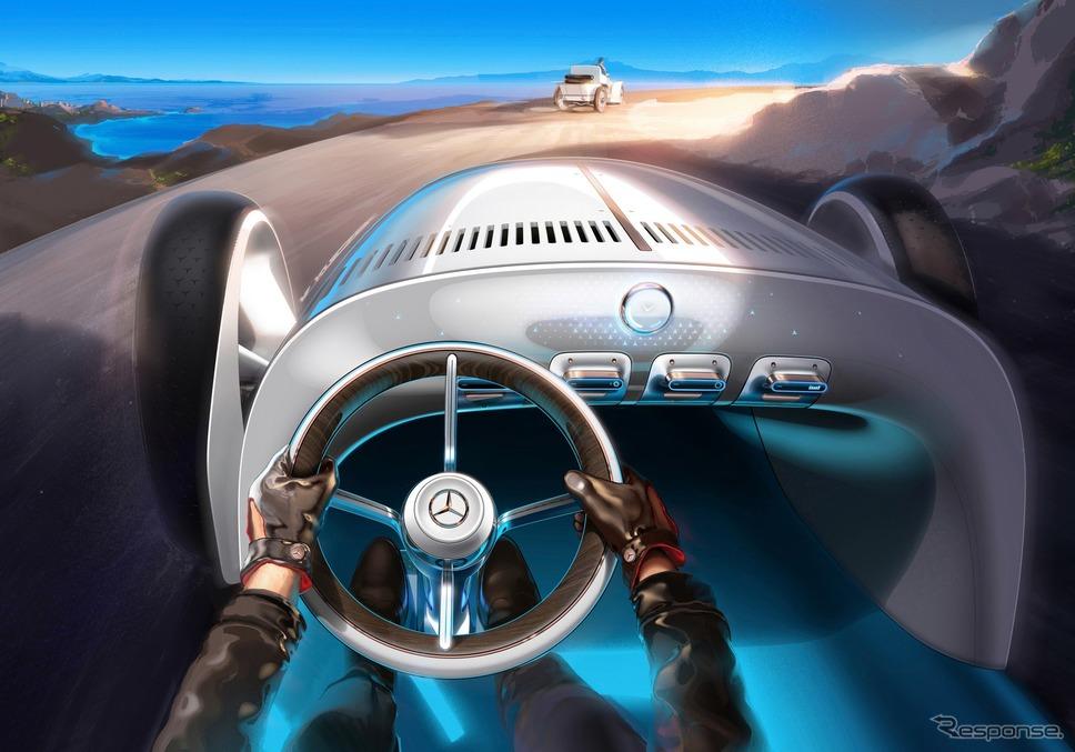 メルセデスベンツ・ヴィジョン・メルセデス・シンプレックス《photo by Mercedes-Benz》