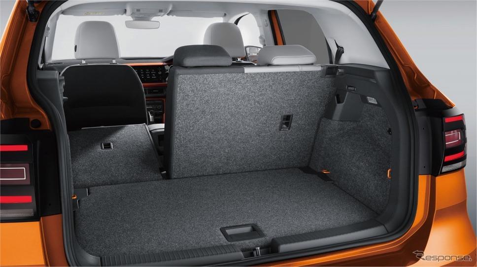 VW Tクロス ラゲージスペース《画像:フォルクスワーゲングループジャパン》