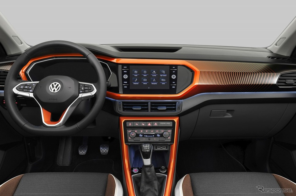 VW Tクロス《画像:フォルクスワーゲングループジャパン》