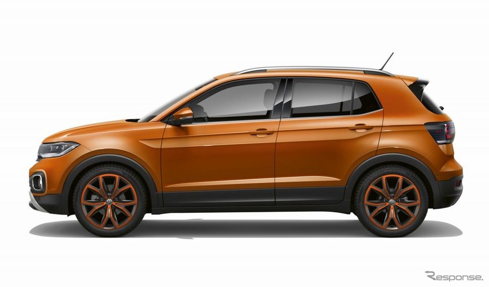 VW Tクロス(エナジェティックオレンジメタリック)《画像:フォルクスワーゲングループジャパン》