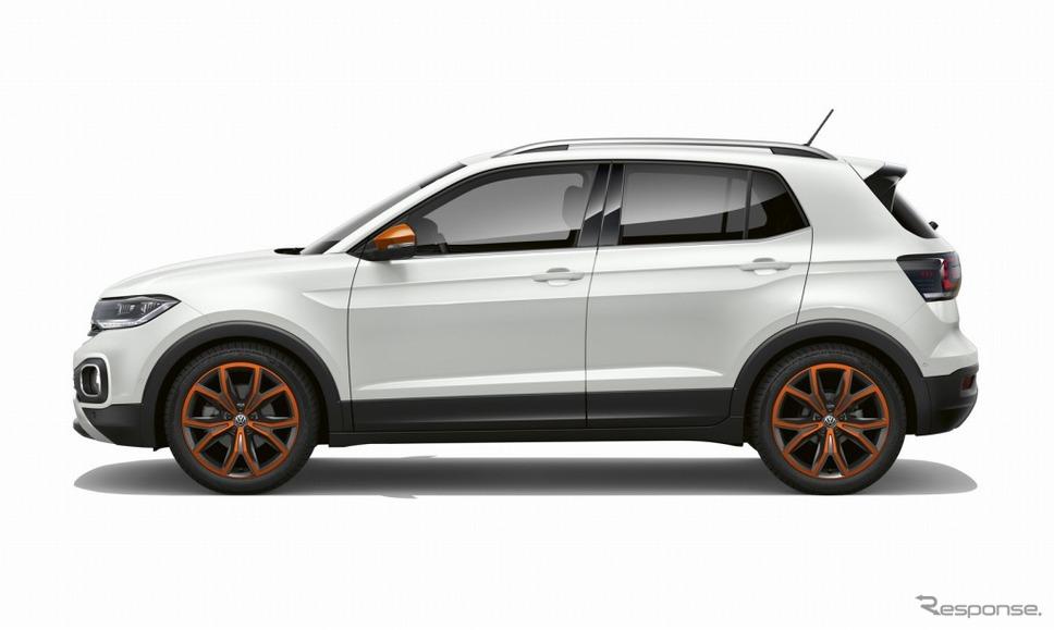 VW Tクロス(ピュアホワイト)《画像:フォルクスワーゲングループジャパン》