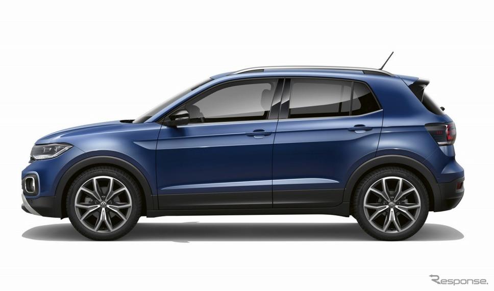 VW Tクロス(リーフブルーメタリック)《画像:フォルクスワーゲングループジャパン》