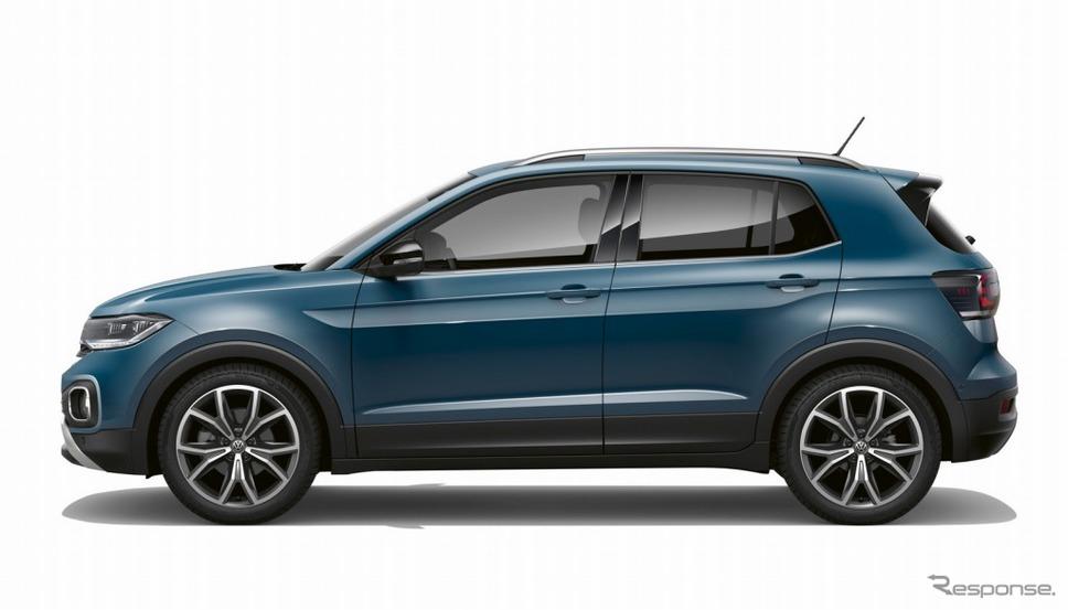 VW Tクロス(ダークペトロール)《画像:フォルクスワーゲングループジャパン》