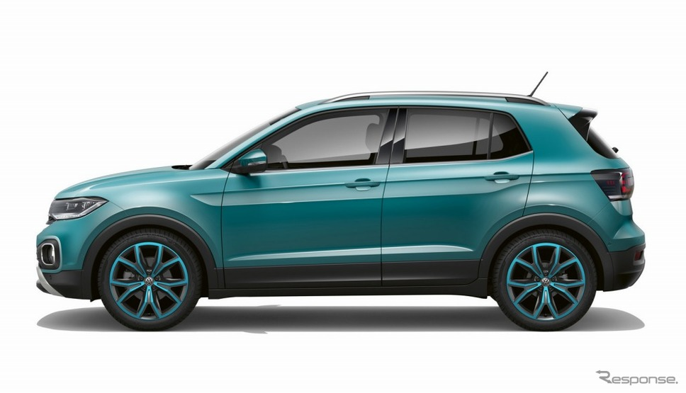 VW Tクロス(マケナターコイズメタリック)《画像:フォルクスワーゲングループジャパン》
