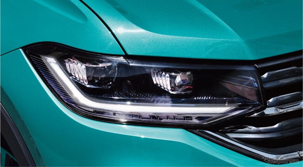 VW Tクロス デイタイムランニングライト《画像:フォルクスワーゲングループジャパン》