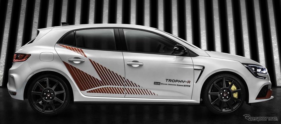 ルノー・メガーヌR.S.トロフィーR新型《photo by Renault》