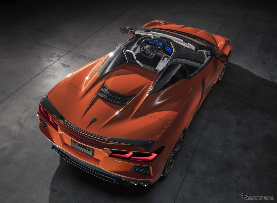 シボレー・コルベット・スティングレイ・コンバーチブル 新型《photo by Chevrolet》