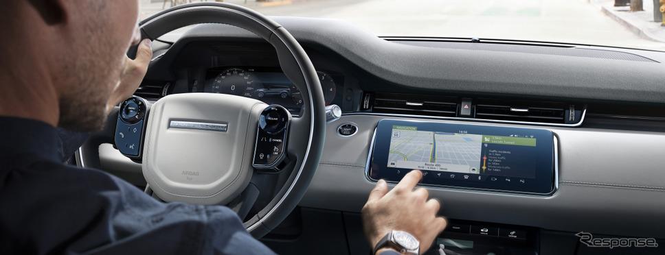 ジャガーとランドローバーの車載ソフトウェアの無線更新のイメージ《photo by Jaguar Land Rover》