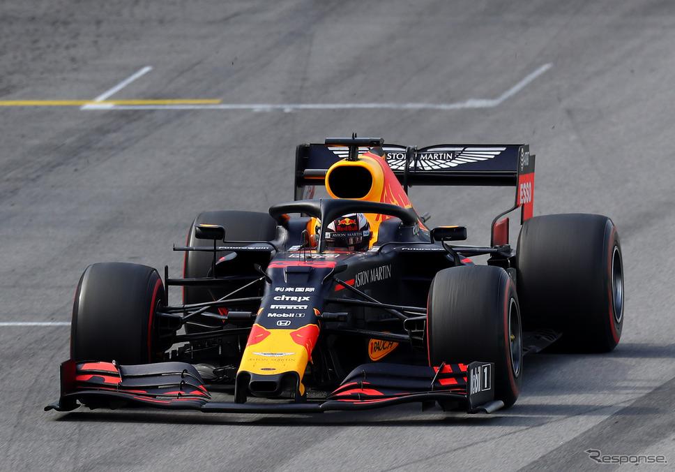 レッドブル・ホンダの #33 マックス・フェルスタッペン(2019年ブラジルGP)。《写真提供 Red Bull》