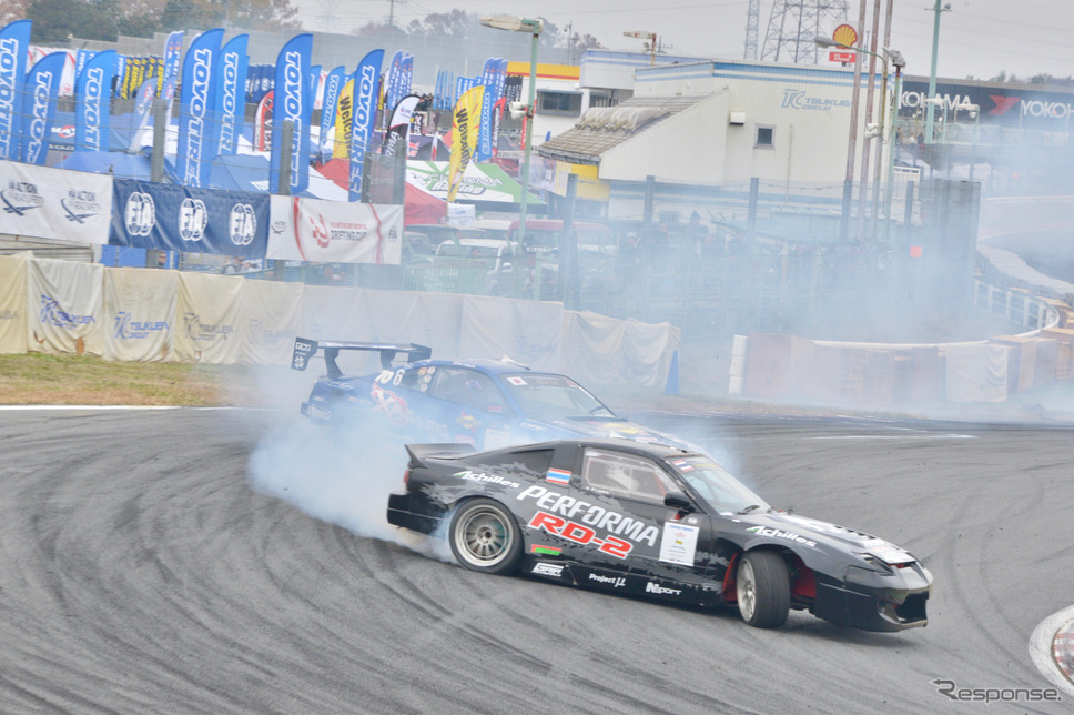 FIA Intercontinental Drifting Cup 2019 Tsukuba Drift《撮影 後藤 竜甫》