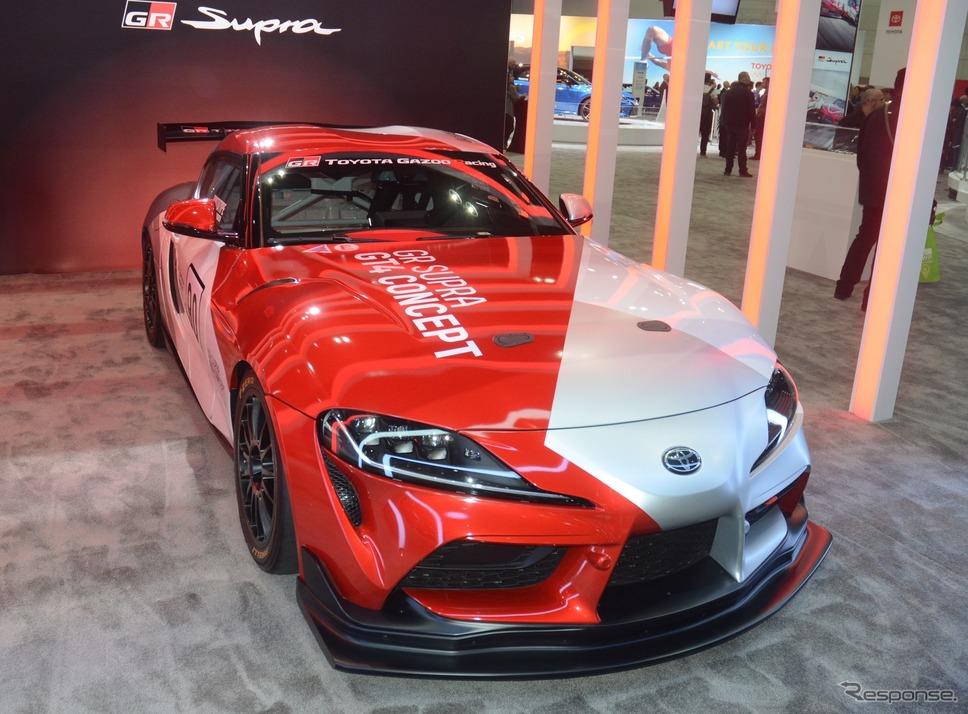 トヨタ GR スープラ GT4(ロサンゼルスモーターショー2019)《photo by Toyota》
