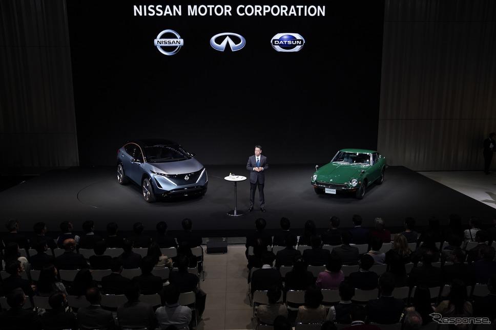 日産自動車、社長就任会見《写真 日産自動車》