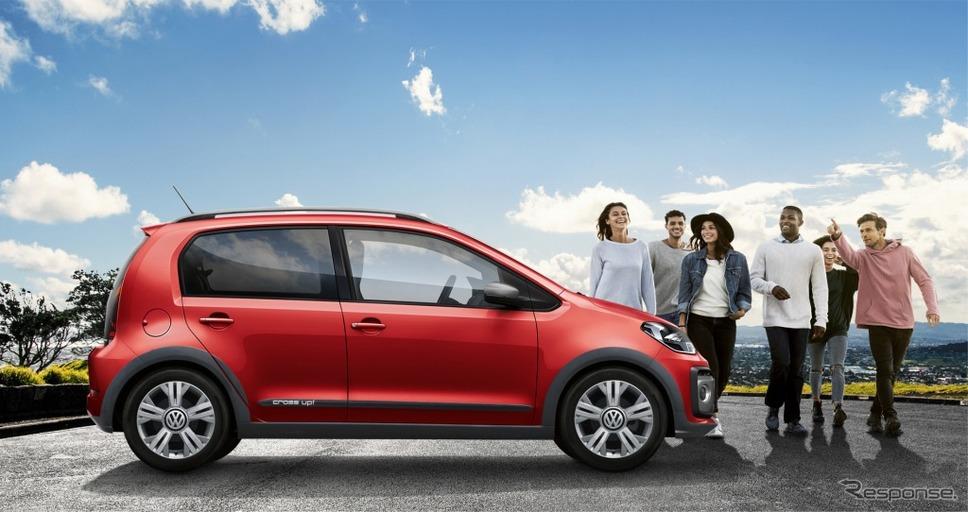 VW cross up!(トルネードレッド)《画像:フォルクスワーゲングループジャパン》
