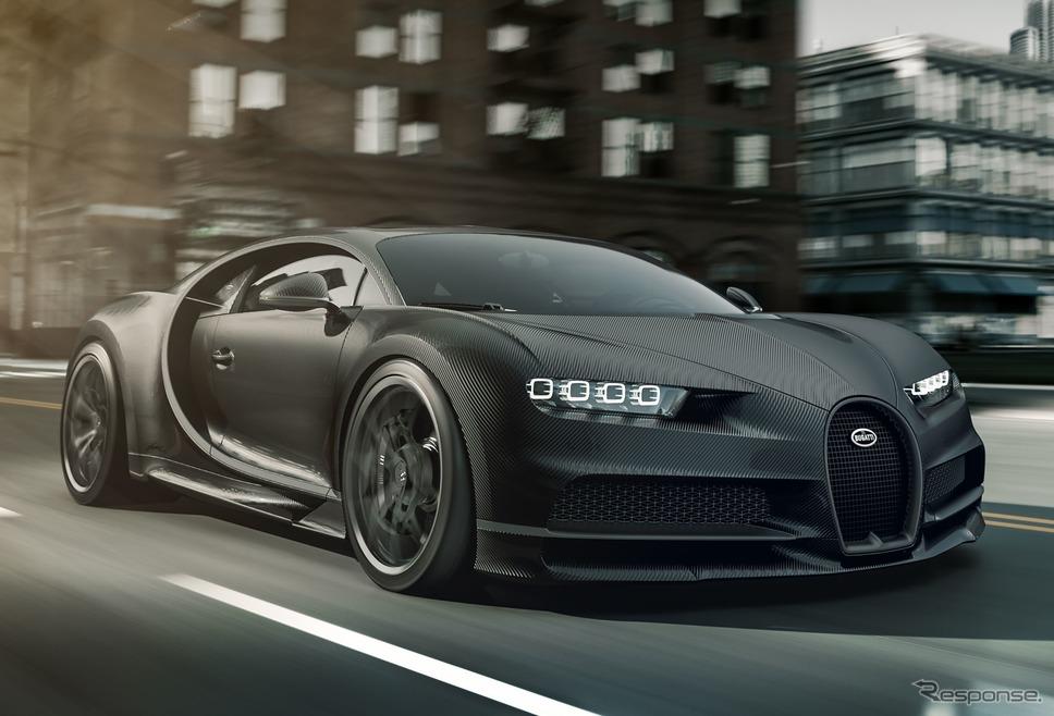 ブガッティ・シロン・ノワール《photo by Bugatti 》