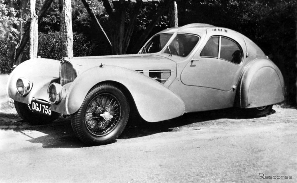 タイプ57 SCアトランティック・クーペ。「ロチルド(ロスチャイルド)」と呼ばれる1台。《photo by Bugatti 》