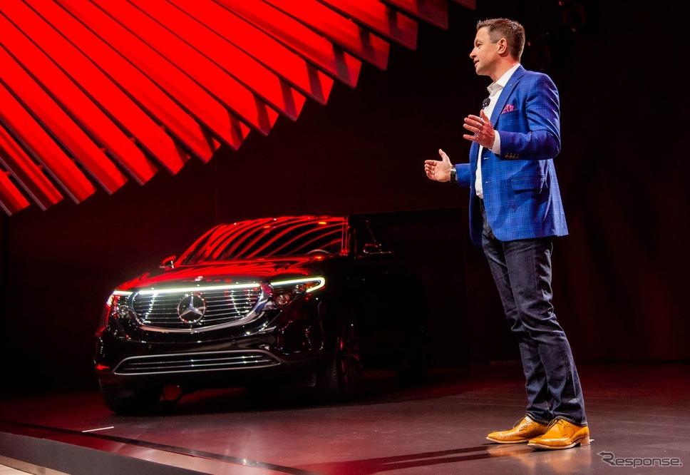 メルセデスベンツ EQC(ロサンゼルスモーターショー2019)《photo by Mercedes-Benz》