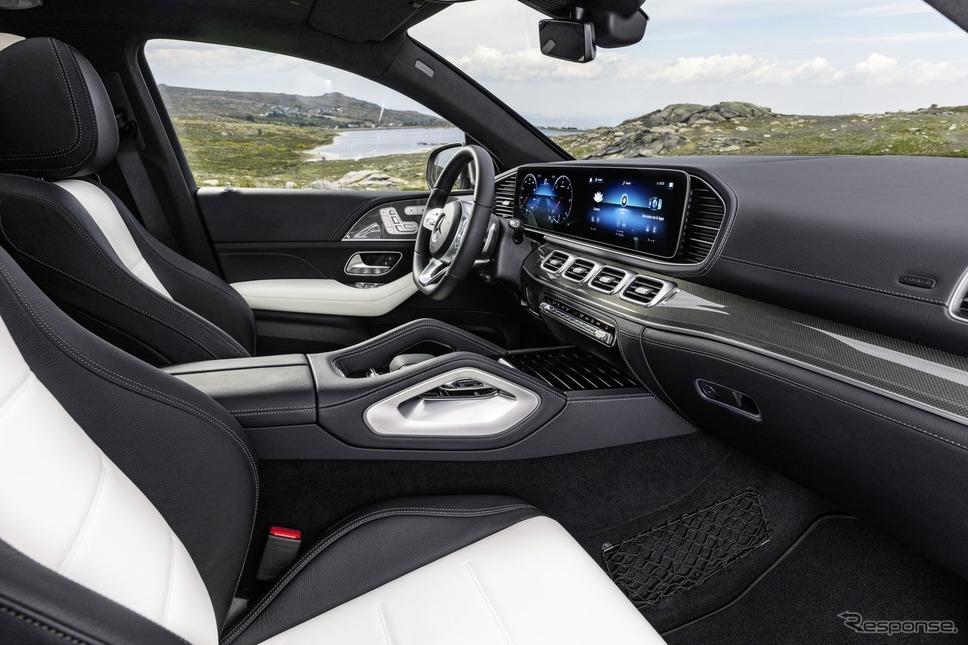 メルセデスベンツ GLE クーペ 新型《photo by Mercedes-Benz》