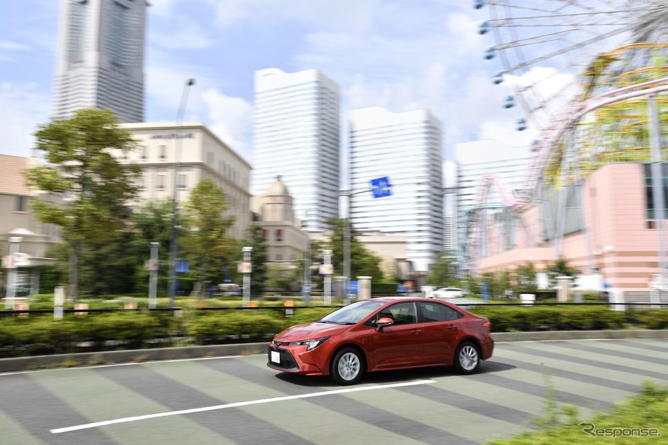 トヨタ カローラ 新型(ガソリン)《撮影 雪岡直樹》