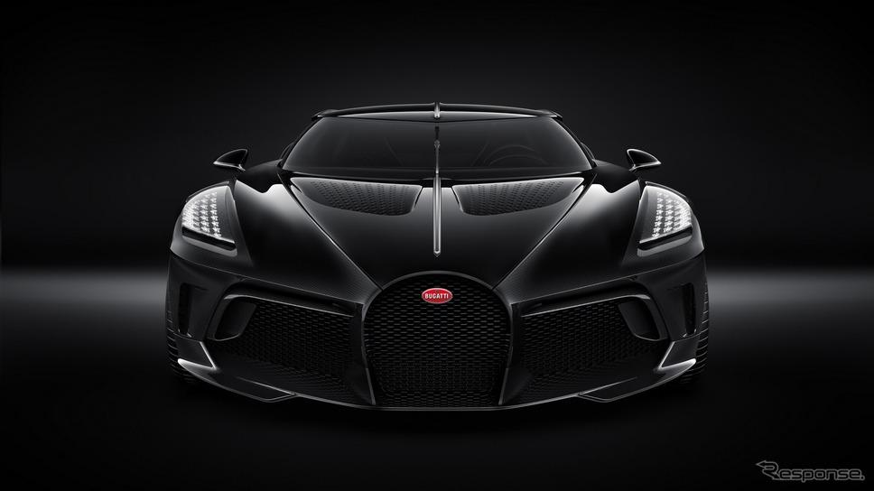 ブガッティ・ラ・ヴォワチュール・ノワール《photo by Bugatti》