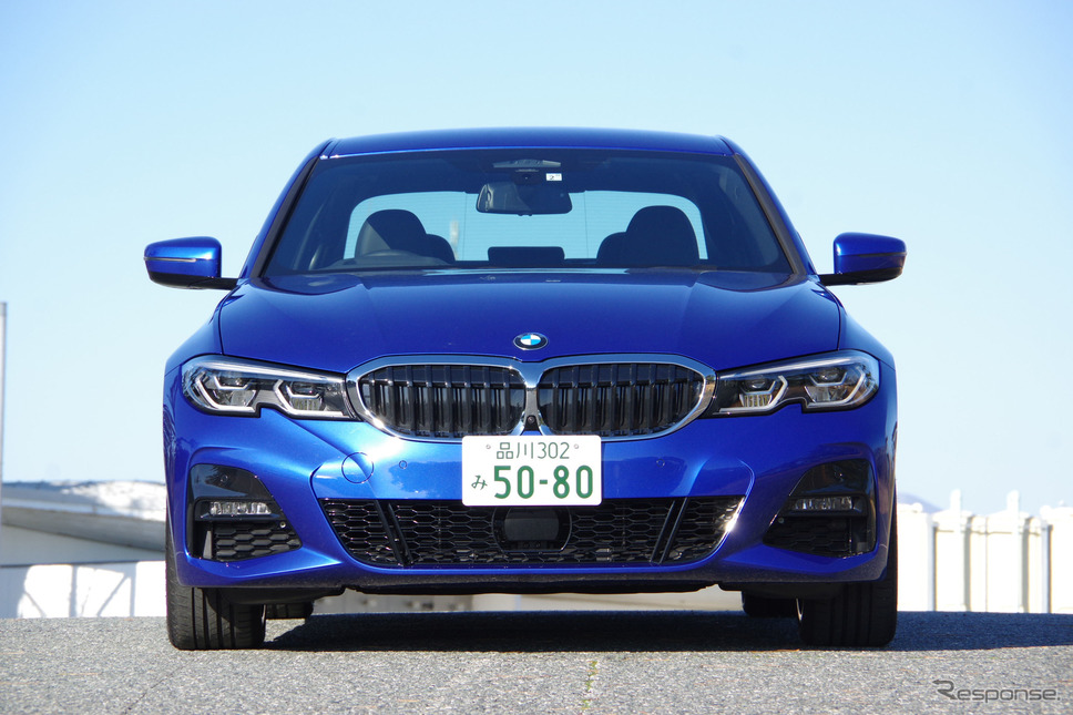 BMW 3シリーズ《撮影 宮崎壮人》