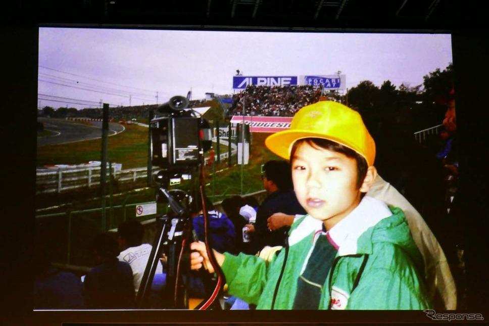 佐藤琢磨がレースへ思いを馳せるようになったのは10歳の時に観戦したF1レースだった