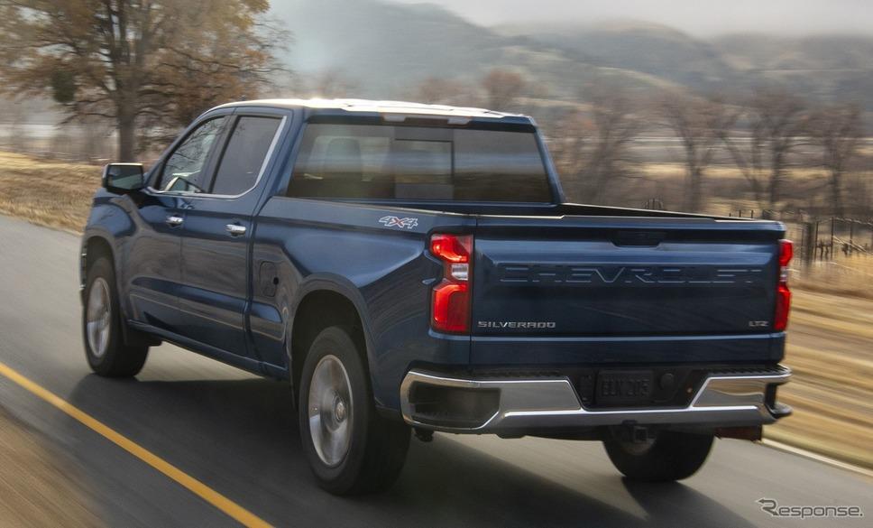 GMのシボレー・シルバラード新型(参考画像)