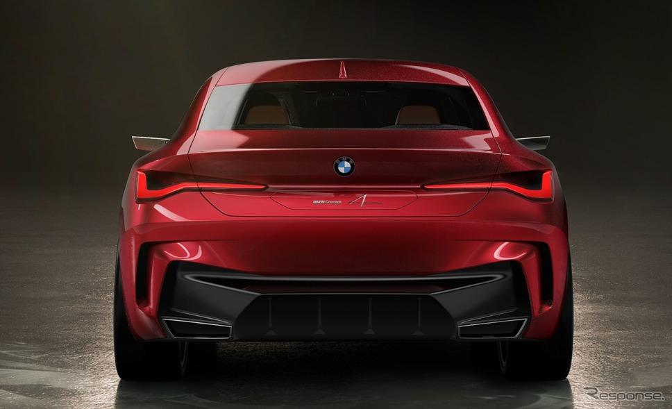 BMWコンセプト4(参考画像)《photo by BMW》
