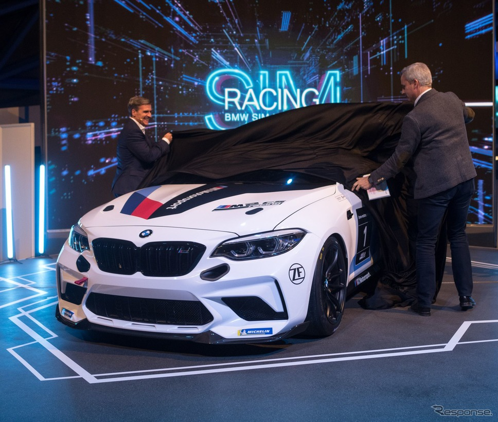 BMW M2 CS レーシング《photo by BMW》