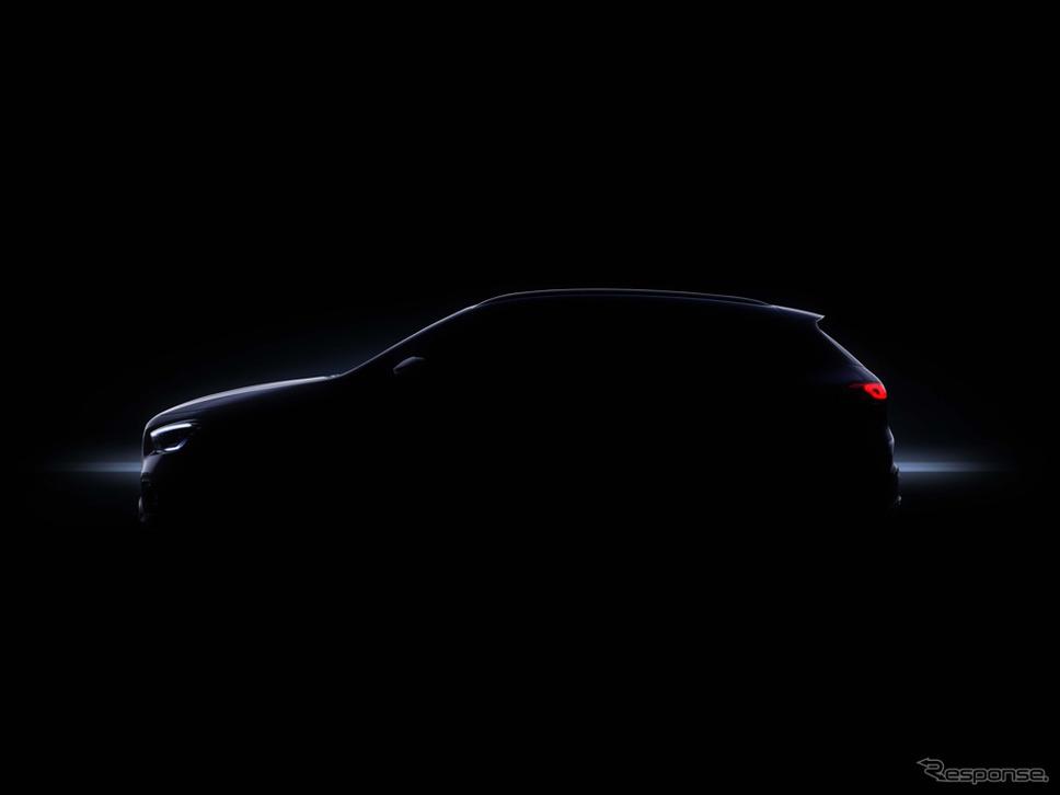 メルセデスベンツ GLA 新型のティザーイメージ《photo by Mercedes-Benz》