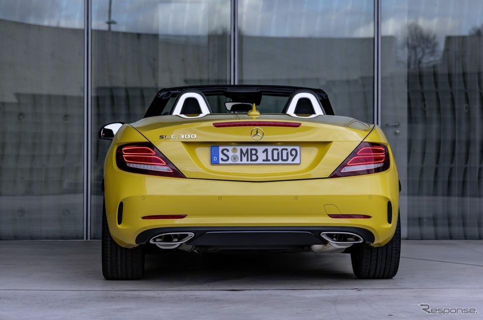 メルセデスベンツ SLC ファイナルエディション《photo by Mercedes-Benz》
