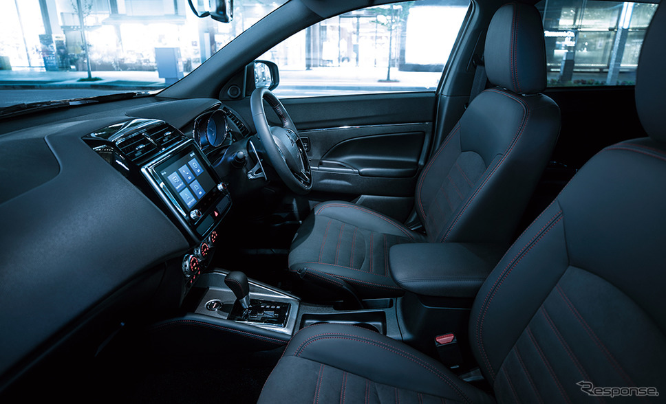 三菱 RVR ブラックエディション インテリアイメージ《画像:三菱自動車》