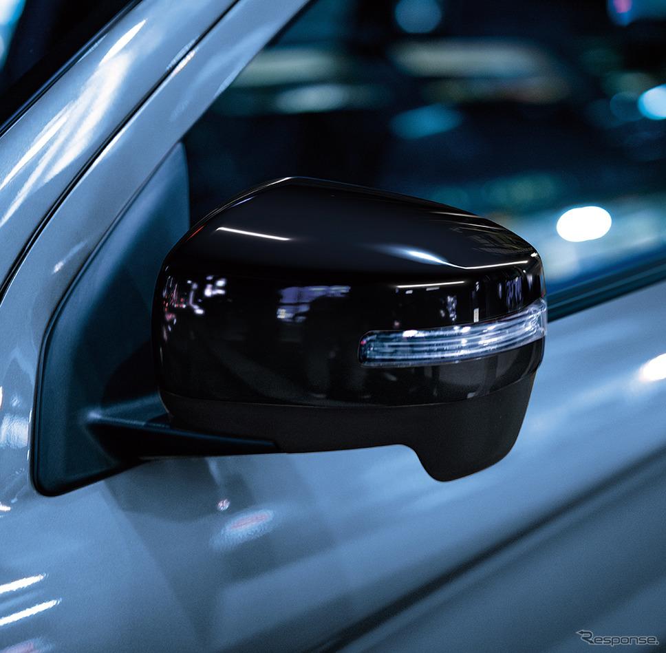 三菱 RVR ブラックエディション LEDターンランプ付電動格納ミラー《画像:三菱自動車》